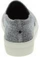 Steve Madden Chaussures slip-on fashion pour femme en tissu technique argenté