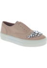 Steve Madden Chaussures slip-on fashion avec bijoux pour femme en toile rose