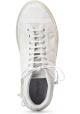 Marsèll Bottines à lacets pour femmes en daim blanc fabriquées en Italie
