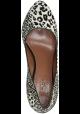 Chaussures à talon Alaïa en cuir type poulain leopard