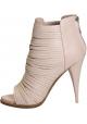 Botines à talon Givenchy en Cuir veau Rose pâle