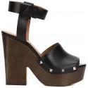 Sandales 'Sofia' Givenchy en Cuir veau veritable noir