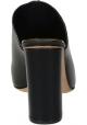 Sandales à talon Céline en cuir noir