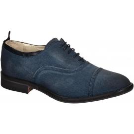 Chaussures à lacets Smith's American femme en jeans