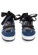 Mocassins à lacet MSGM en tissue jeans