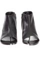 Bottines Maison Margiela pour femme en cuir noir