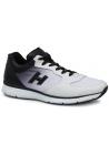 Sneakers Hogan baskets homme en cuir blanc