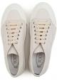 Basket Tod's pour femme en cuir veritable blanc