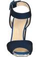 Sandales à talons Giuseppe Zanotti en tissu Bleu foncé