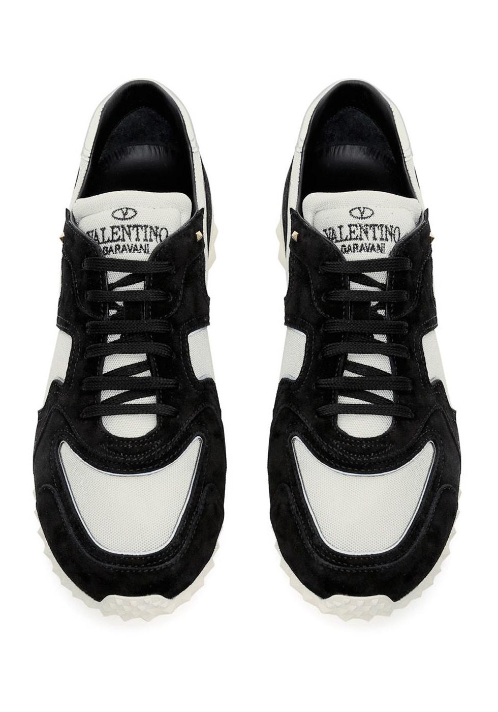 Tissu Baskets Boutique Blanc Homme Cuir Valentino Italian Noir En Et  xqYq1Wan 2d150cbed7a