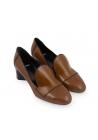 Chaussures àtalon Pierre Hardy en cuir verni kaki