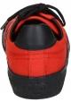 Baskets Céline pour femme en toile rouge et gomme noir