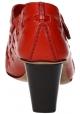 Chaussures àtalon Céline en cuir veau rouge