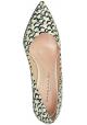 Chaussures à talon Barbara Bui en piton blanc