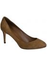Chaussures àtalon Gucci en peau retournée marron moyen