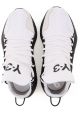 Baskets Kusari Y3 homme en cuir et tissue blanc