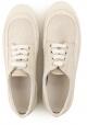 Sneakers Hogan pour femme en beige fabric