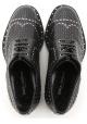 Chaussures àlacets Dolce&Gabbana homme en cuir noir