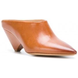 Sandales à talons Maison Margiela en cuir marron