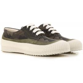 Sneakers Hogan pour femme en camouflage fabric