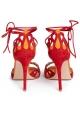 Sandales àtalons hauts Gianvito Rossi Samba en daim rouge