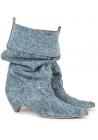 Bottines Stella McCartney femme en tissu Jeans