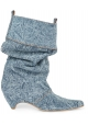 Bottines Stella McCartney femme en tissu Jeans