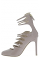 Valentino Chaussures àtalon aiguilles femme en cuir Mauve