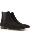 Dolce&Gabbana Boots Homme en peau Retournée noir avec zip