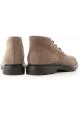 Hogan H393 DERBY Bottines homme en daim marron clair