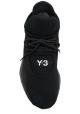 Y-3 Baskets à lacets pour homme en tissu technique noir semelle en caoutchouc
