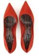 Dolce&Gabbana Décolleté talon aiguille pour femme en cuir suédé Brûlée