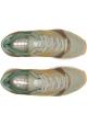 Baskets Diadora pour homme en cuir et tissu Miel