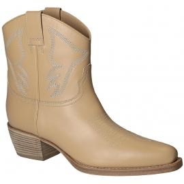 Bootines western Valentino femme en cuir Peau