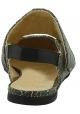 Chaussures bas Erika Cavallini en cuir craquelé vert