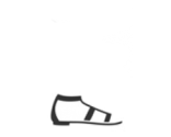 Sandales plates Prada